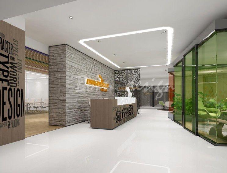合肥城市管理公司办公室装修设计内部空间安排