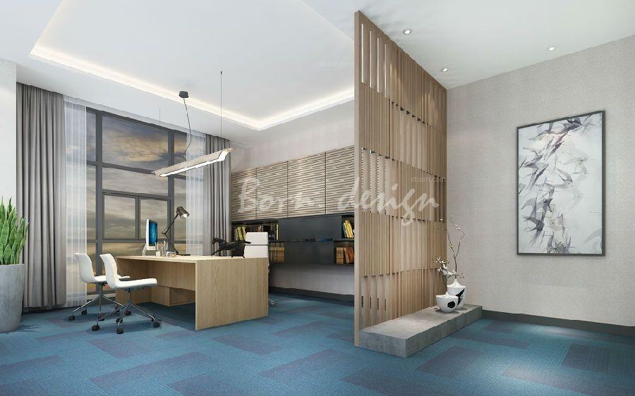 合肥大型信息办公室空间设计全面展示