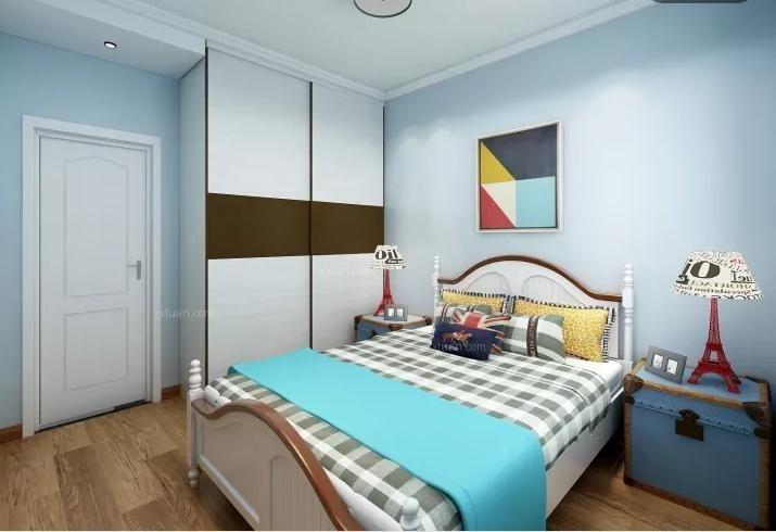 110平米简美三居室