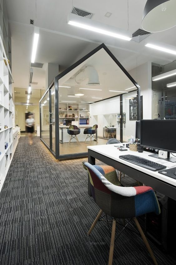 不可忽略的合肥办公室设计软装搭配