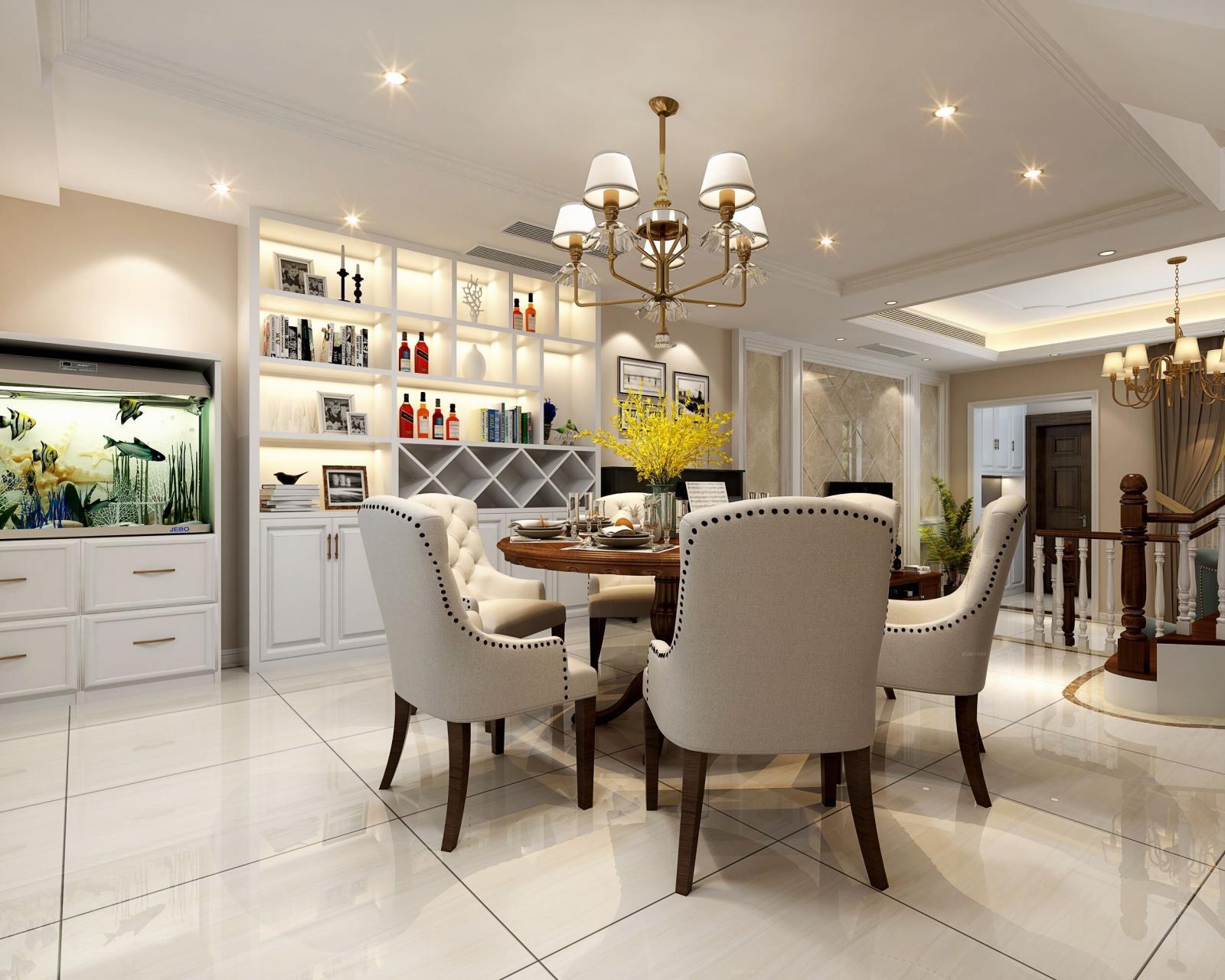环东别墅美式风格设计案例展示