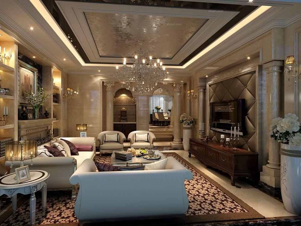 保利十二橡树庄园别墅欧式古典风格