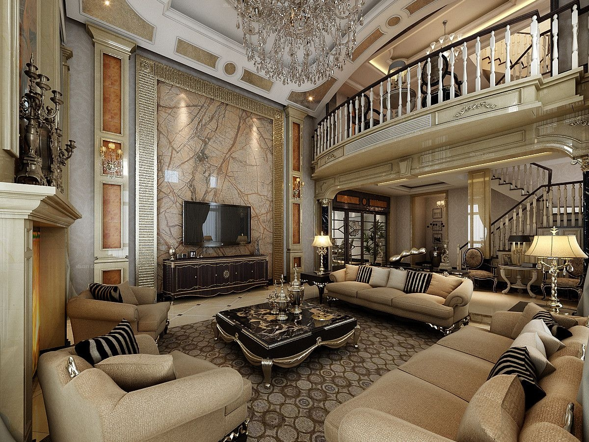 祥和公寓别墅装修欧式古典风格设计