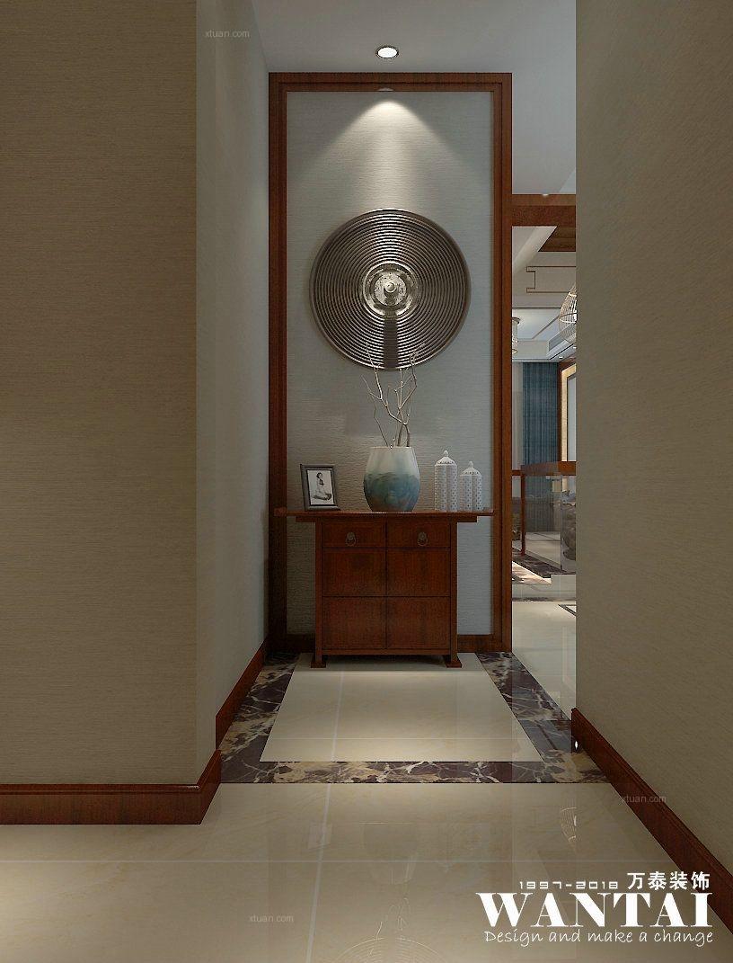泰安万泰装修| 五矿万境水岸206m²别墅新中式风格装修效果