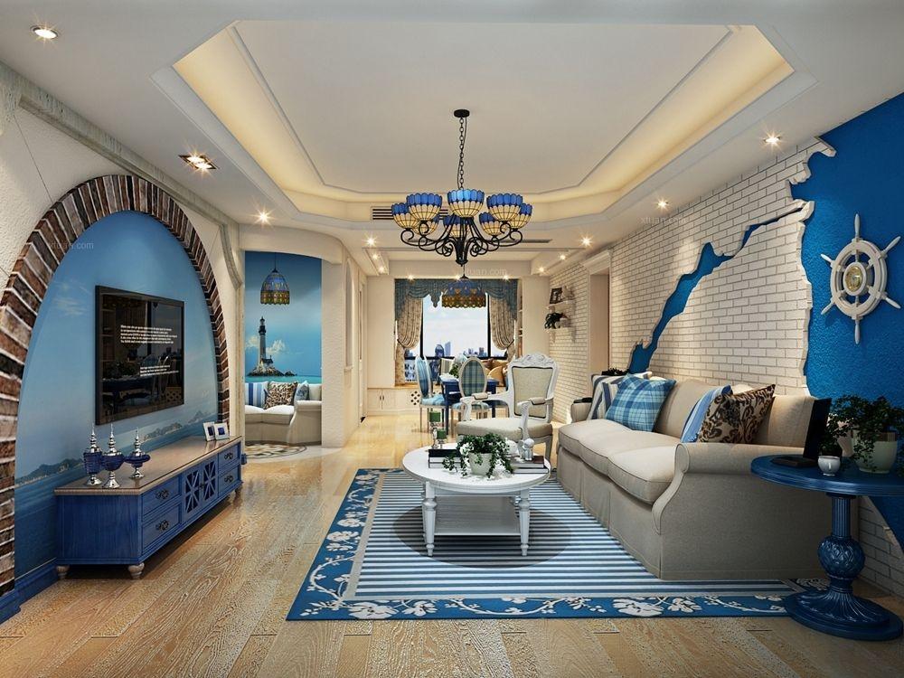 上海滩花园洋房地中海风格设计