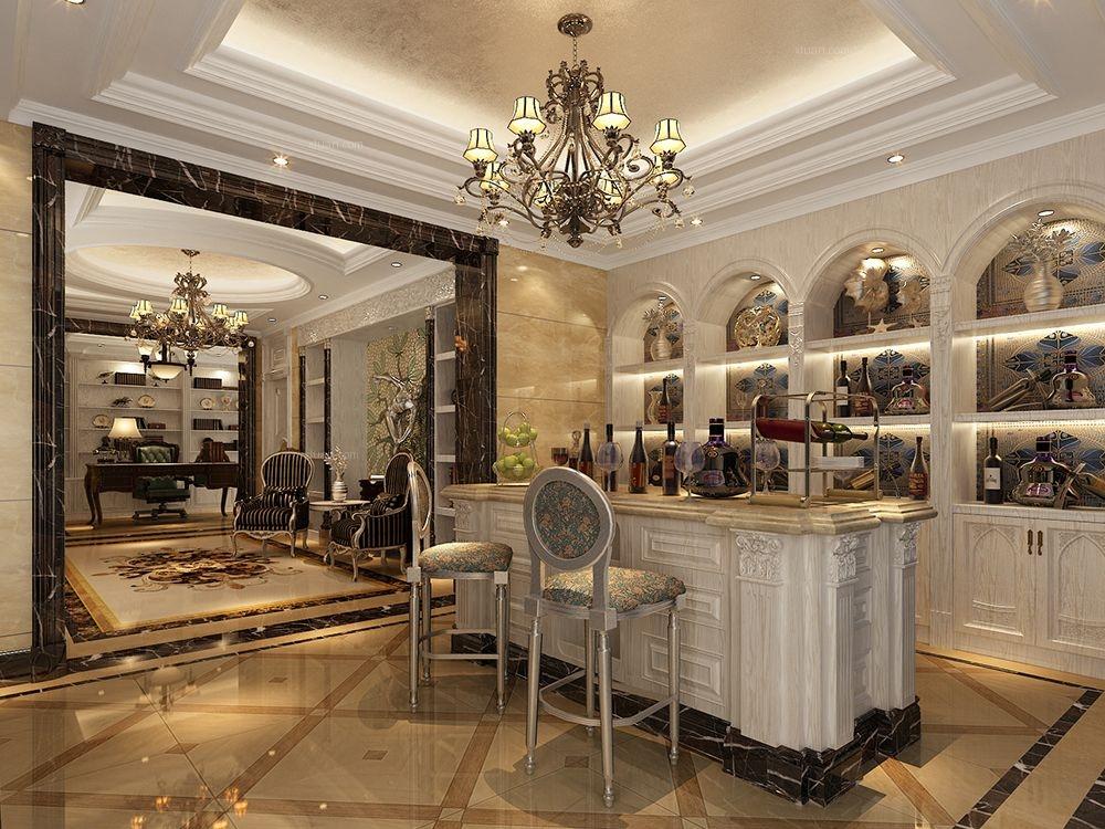 新上海花园洋房别墅装修欧式古典风