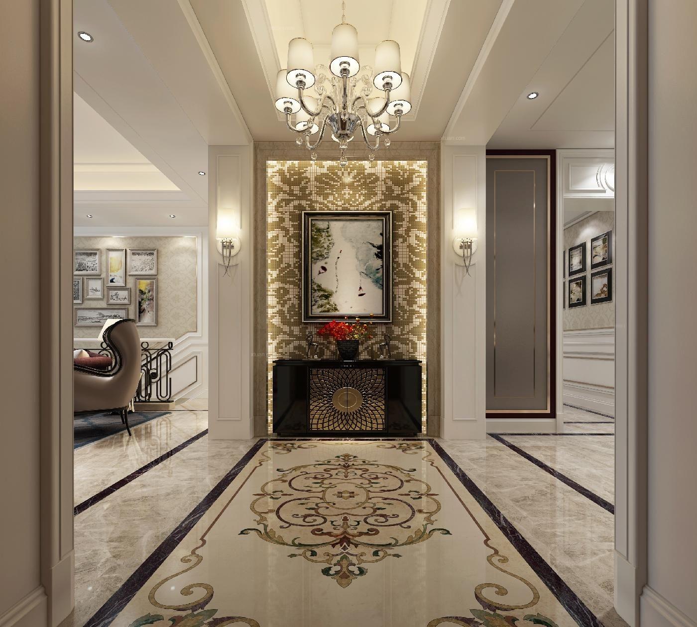 名仕豪庭联排别墅装修设计