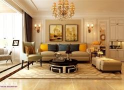 保利华庭装修 保利华庭装修三居室欧式风格