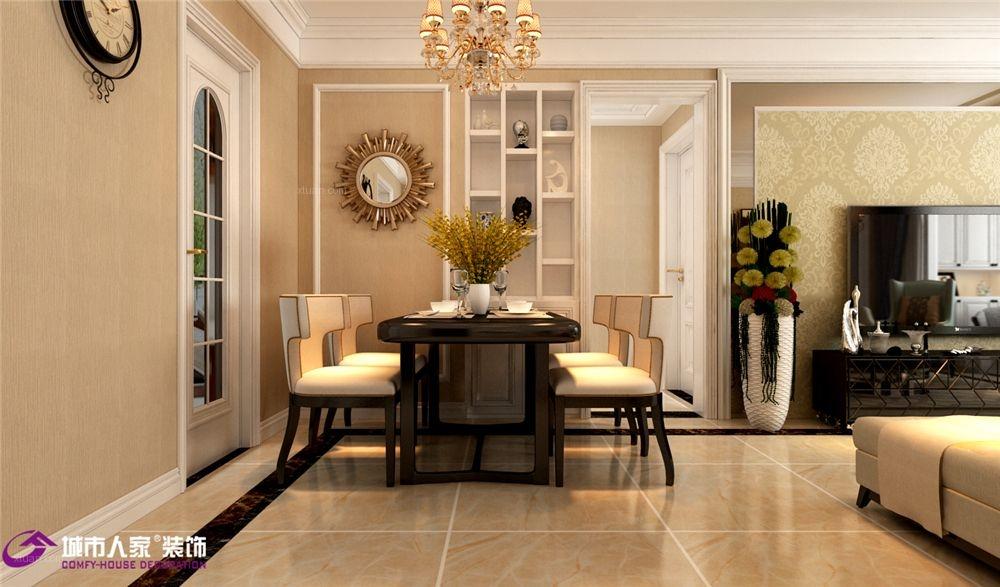 保利华庭装修|保利华庭装修三居室欧式风格