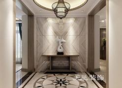 美巢郑州正商善水上境现代中式设计194平四室大平层装修效果图