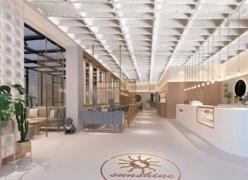 青岛西餐厅设计案例-阳光不锈咖啡西餐厅