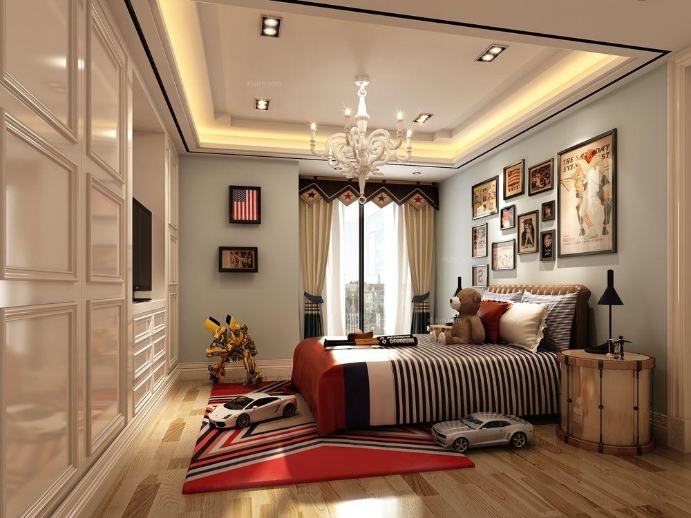 中星红庐500平别墅装修欧式古典风格