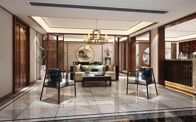 中星红庐800平别墅项目装修设计