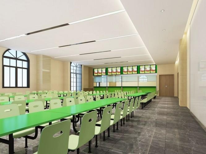 护校食堂内装设计工程