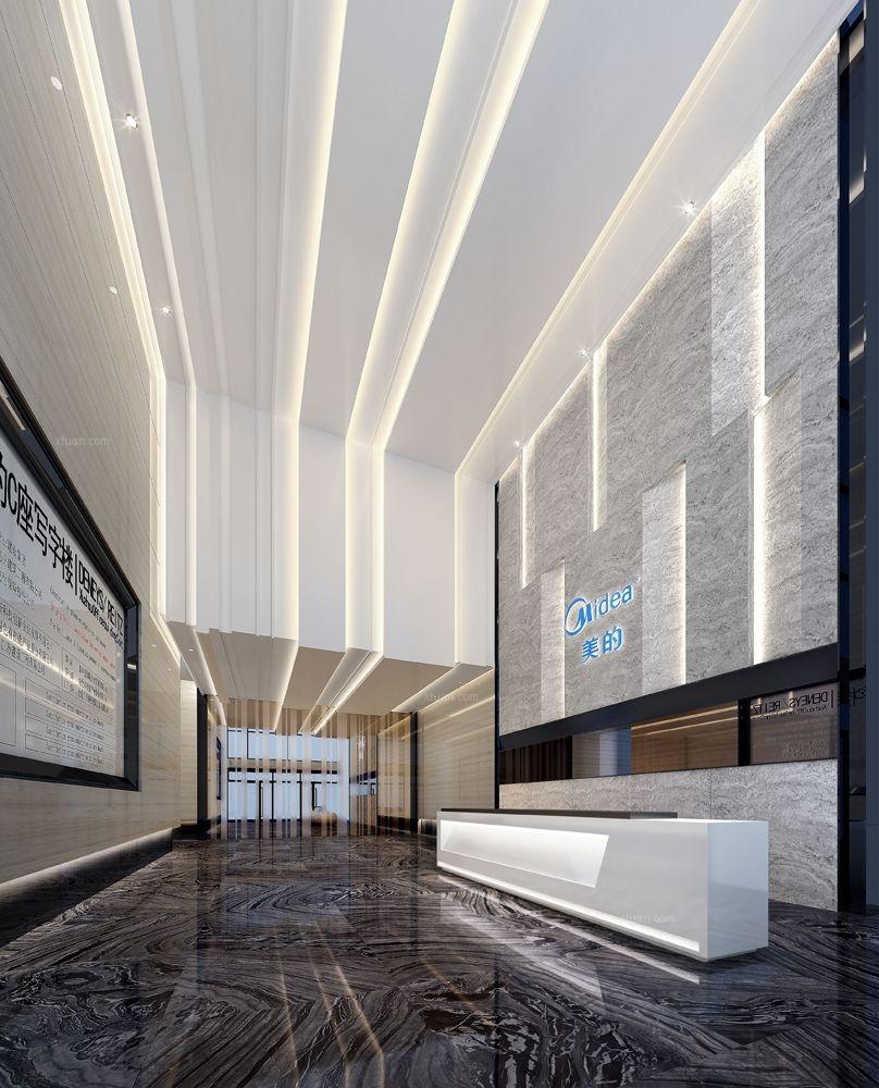 办公楼公区设计