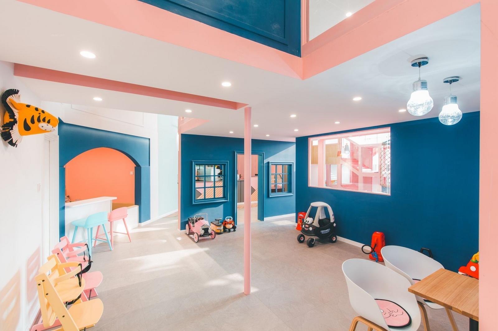 """青岛亲子咖啡厅设计""""Thalias House""""案例图"""