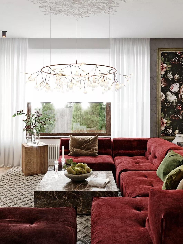 华润24城现代混搭风格装修案例-大树装饰