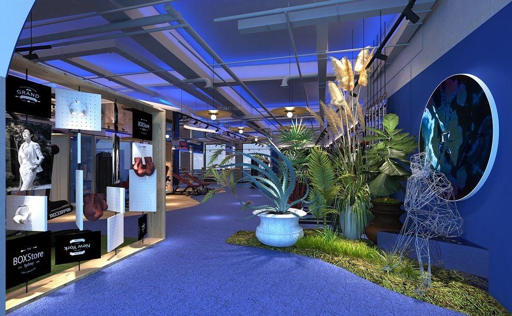 健身会所设计-高级健身房-商业空间设计