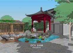 西安尚塬民宿设计-建筑、室内、园林全案打造