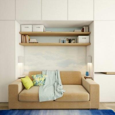 淡雅舒适的现代小户型装修设计