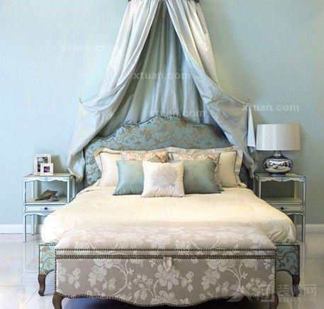 欧式风格装修打造公主卧室