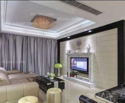 客厅装饰-电视背景墙装修效果图