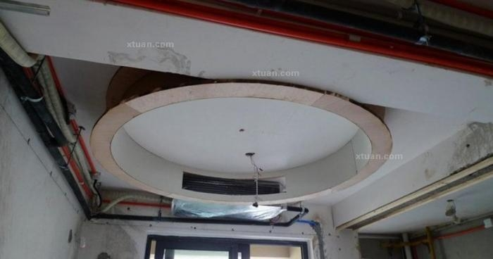 餐厅的圆形吊顶