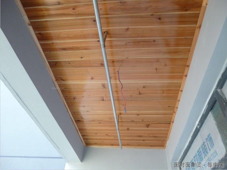 面对面装饰木工吊顶工艺