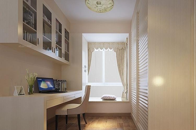 青秀山1号-89平米欧式风格-案例_装修样板房