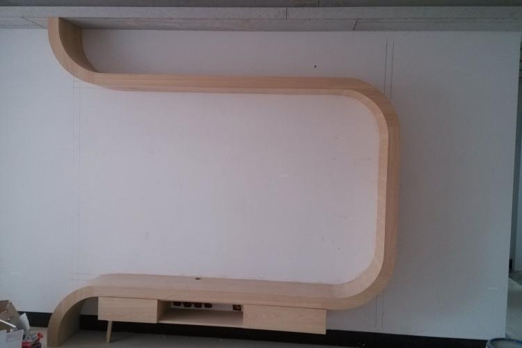 木工施工片