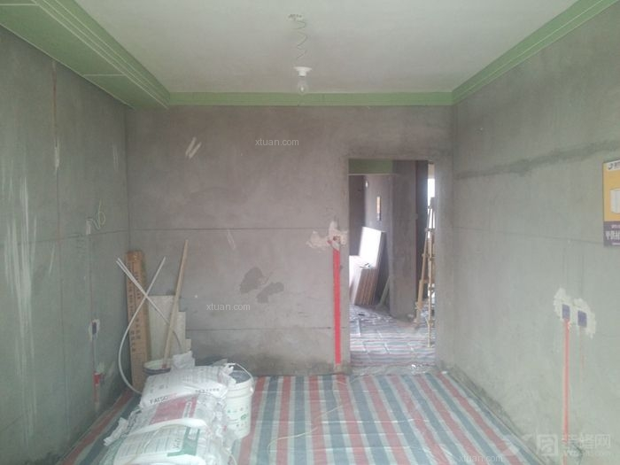 中心城卧室家具装修效果图  房间:卧室 风格:现代简约 装修方式:半包