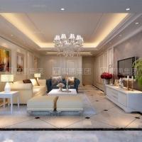 虹桥豪苑三居室装修在建项目展示