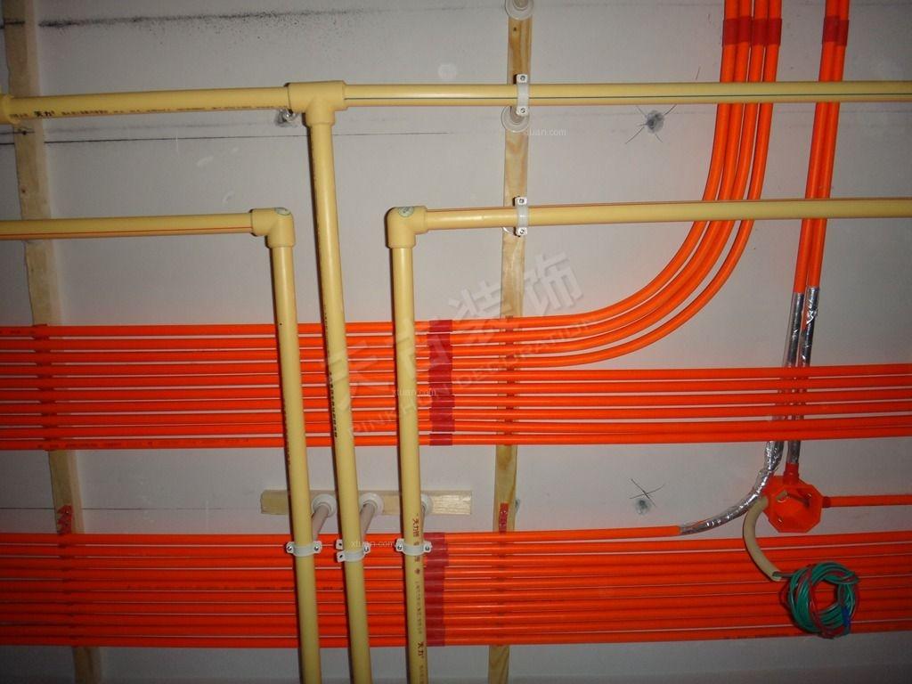 南坪天古装饰的(隐蔽工程)水电施工现场照片