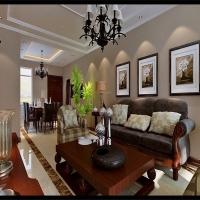 中海寰宇天冠简美效果图 125平三居室设计风尚
