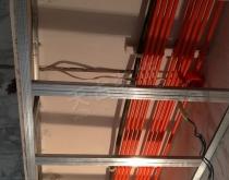 鲁能星城装修案例 木作工程(龙骨 石膏板)吊顶阶段