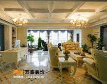 泰安金融中心261平大平层古典装修风格