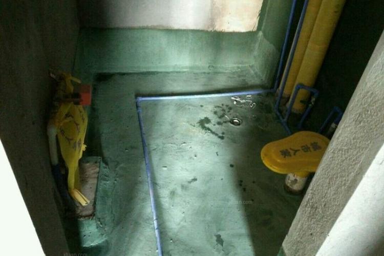 一居室50平米水电路施工现场_装修样板房