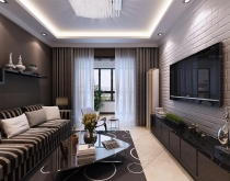 金地湖城艺境10栋两室两厅86平装修设计