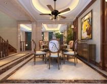 中海央墅300平方中式风格方案0551-65196123