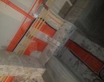 逸翠庄园装修工地|二期联排别墅水电施工图