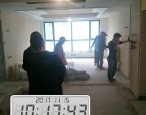 【西安龙发装饰】群贤道九号 在建工地巡检中