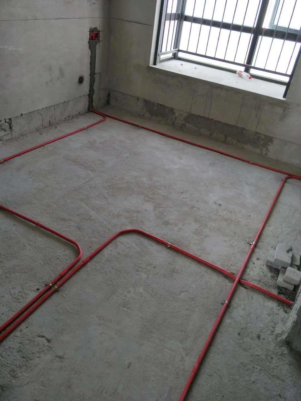 绿地城6期水电施工阶段