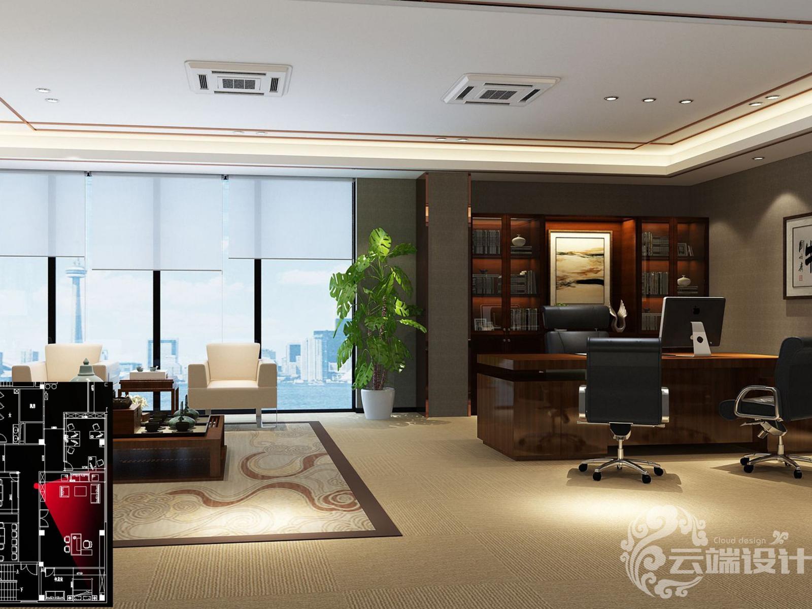 【云端装饰】办公大楼装修