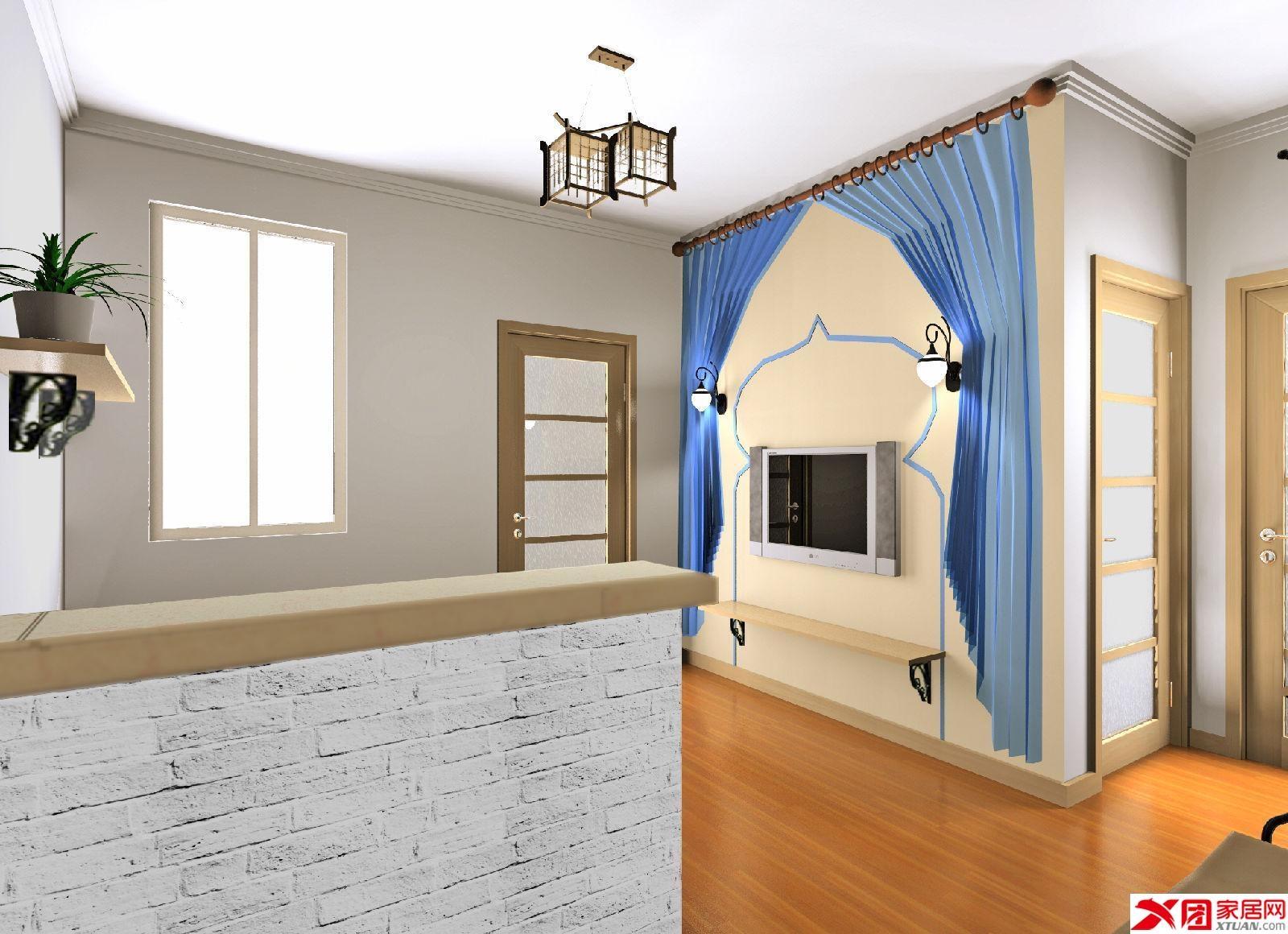 现代简约客厅装修效果图图片