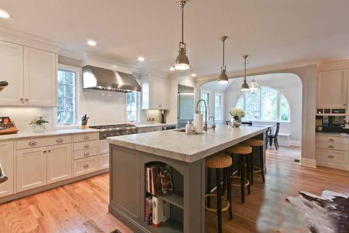 120平米三室两厅厨房装修效果图