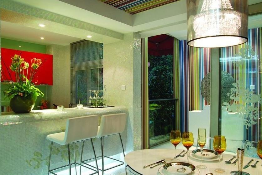 大气欧式风格 都市之家吧台装修效果图