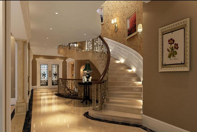 欧式情调 优化生活楼梯设计装修效果图