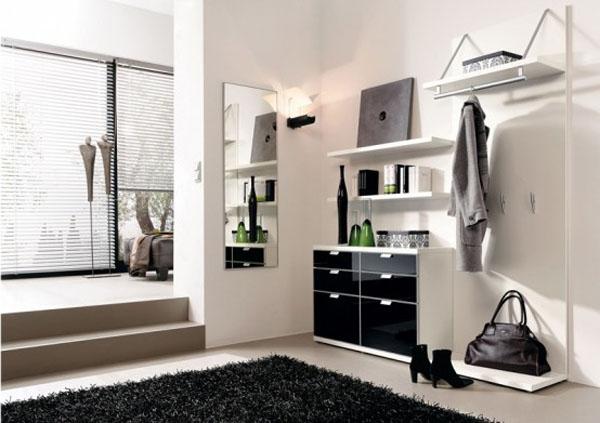 现代风格进门鞋柜设计