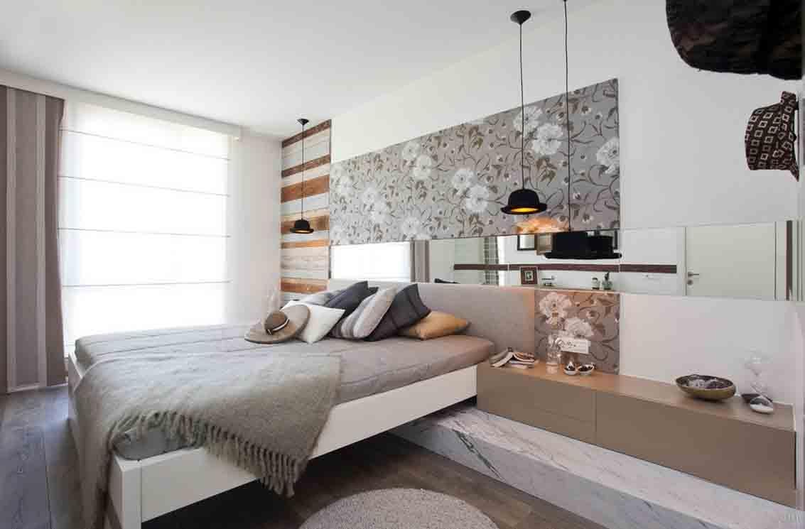现代简约风格卧室装修效果图图片