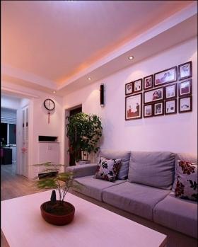 设计 冷暖色 沙发背墙 装饰装修效果图